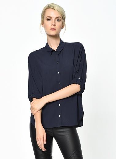 Uzun Kollu Gömlek-Only
